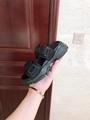 D-wander slide black camouflage technical fabric      sandal      lady sandal  6