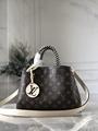 hotsale newest lv montaigne bb monogram lv handbags M45311 Creme Beige