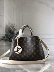 hotsale newest lv montaigne bb monogram lv handbags M45311 Creme Beige