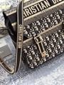 CAMP BAG Blue      Oblique Embroidery  8