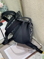 Dior MINI SADDLE BACKPACK Navy Blue Dior Oblique Jacquard dior men backpack