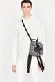 Dior MINI SADDLE BACKPACK Navy Blue Dior Oblique Jacquard dior men backpack