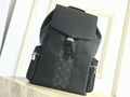 lv outdoor backpack M30419 lv backpack cobalt black lv men backpack