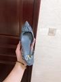 GARAVANI VLOGO CALFSKIN SLINGBACK PUMP  4.5cm and 8cm           heels  4