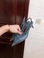GARAVANI VLOGO CALFSKIN SLINGBACK PUMP  4.5cm and 8cm           heels  2