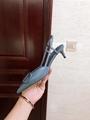GARAVANI VLOGO CALFSKIN SLINGBACK PUMP  4.5cm and 8cm           heels  6