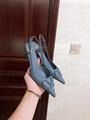 GARAVANI VLOGO CALFSKIN SLINGBACK PUMP  4.5cm and 8cm           heels  7
