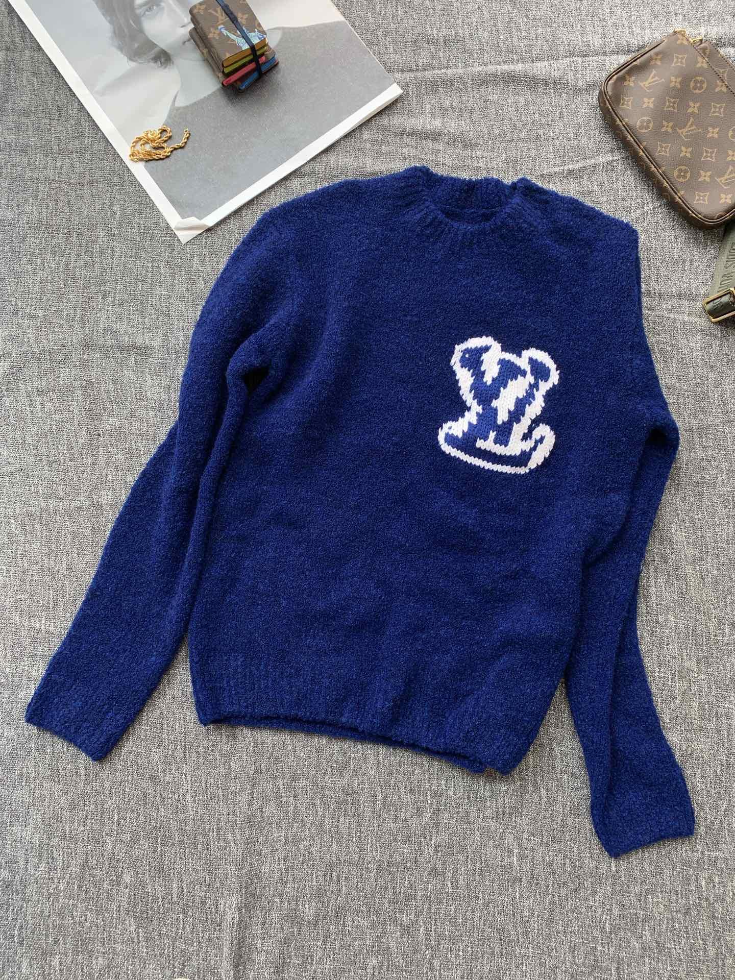 intarsia crewneck 1A7XOH    sweater    men sweater  4