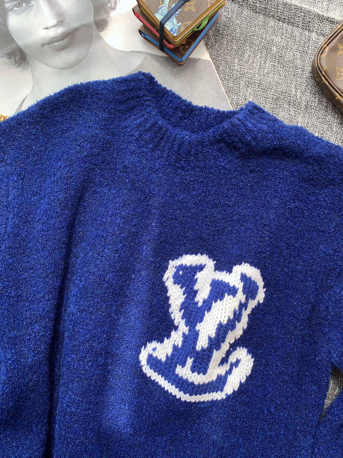 intarsia crewneck 1A7XOH    sweater    men sweater  5