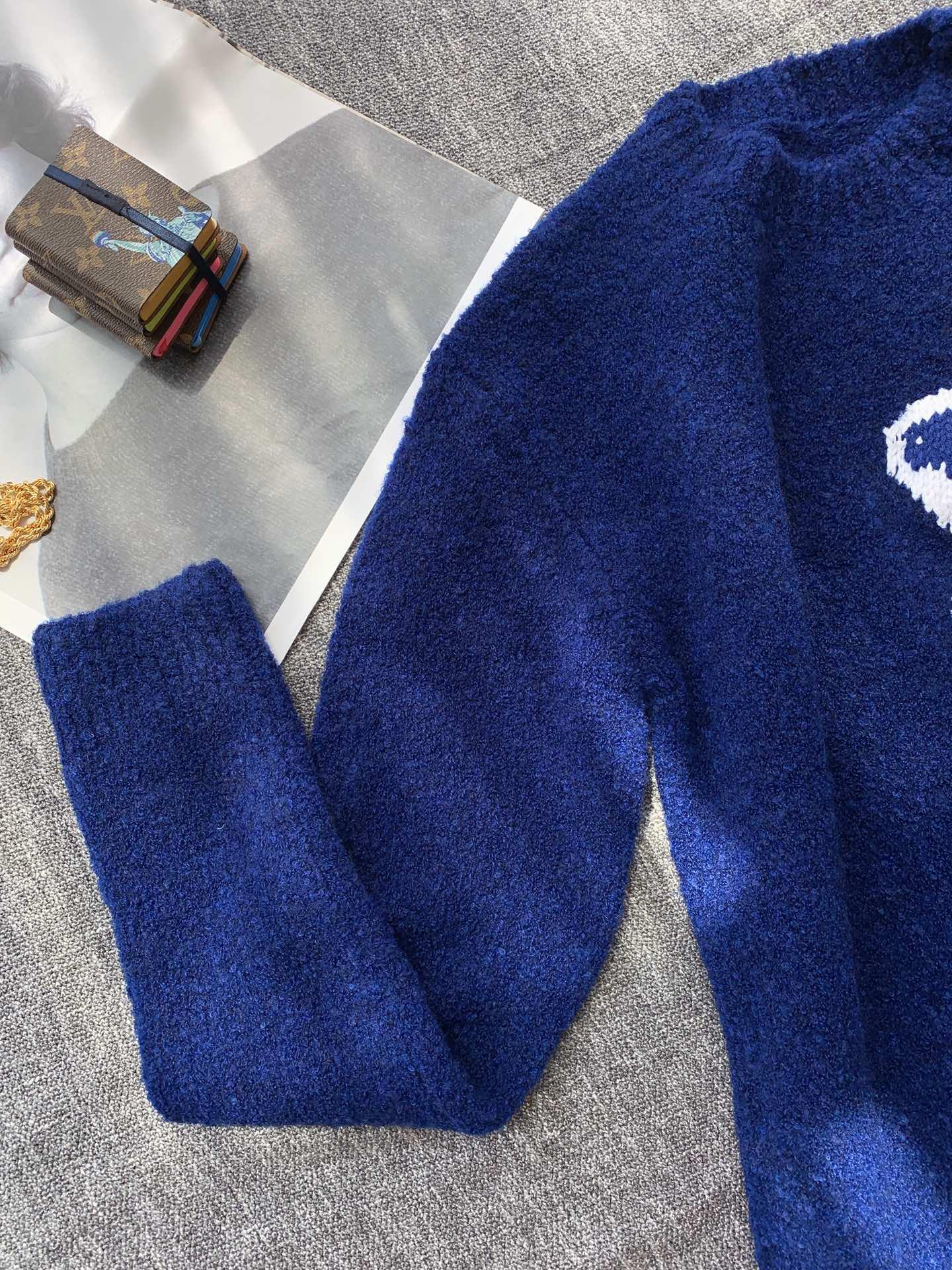 intarsia crewneck 1A7XOH    sweater    men sweater  12