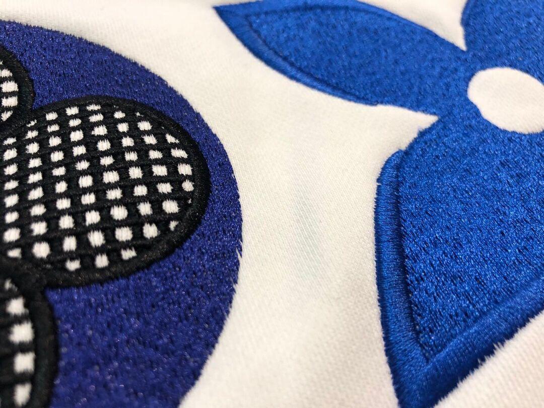 lv flower monogram embroidered sweatshirt lv sweashirt  6