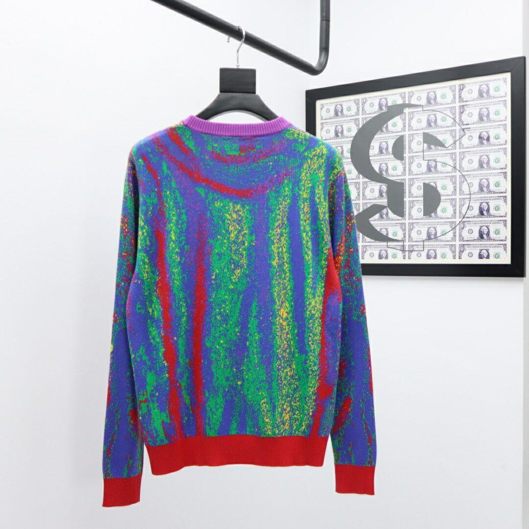 acquard crewneck sweater    sweater    men sweater 1A7X9X  3