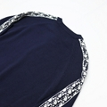 sweater with dior oblique band navy blue Cotton  3