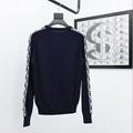 sweater with dior oblique band navy blue Cotton  9