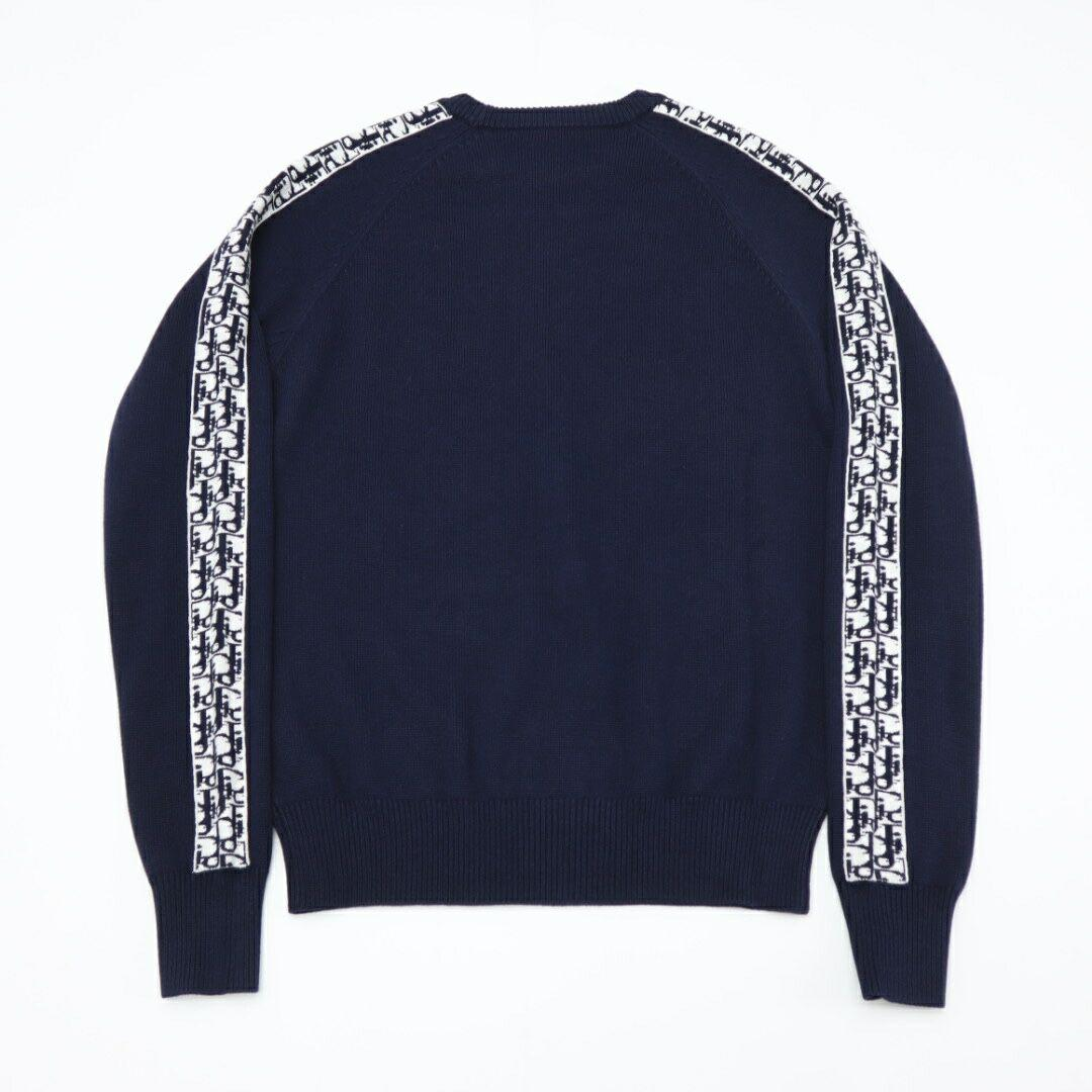 sweater with dior oblique band navy blue Cotton  10