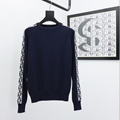 sweater with dior oblique band navy blue Cotton