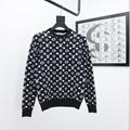 full monogram jacquard crewneck sweater