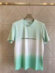givenchy studio homme faded effect t-shirt givenchy tshirt T-shirt in mint green
