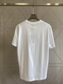 Fendi White cotton T-shirt fendi tshirt fendi crew-neck oversize tshirt  4