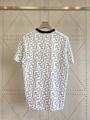 Fendi White cotton T-shirt fendi tshirt crew-neck oversize T-shirt  6