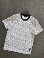 Fendi White cotton T-shirt fendi tshirt crew-neck oversize T-shirt  7