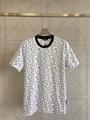 Fendi White cotton T-shirt fendi tshirt crew-neck oversize T-shirt  1