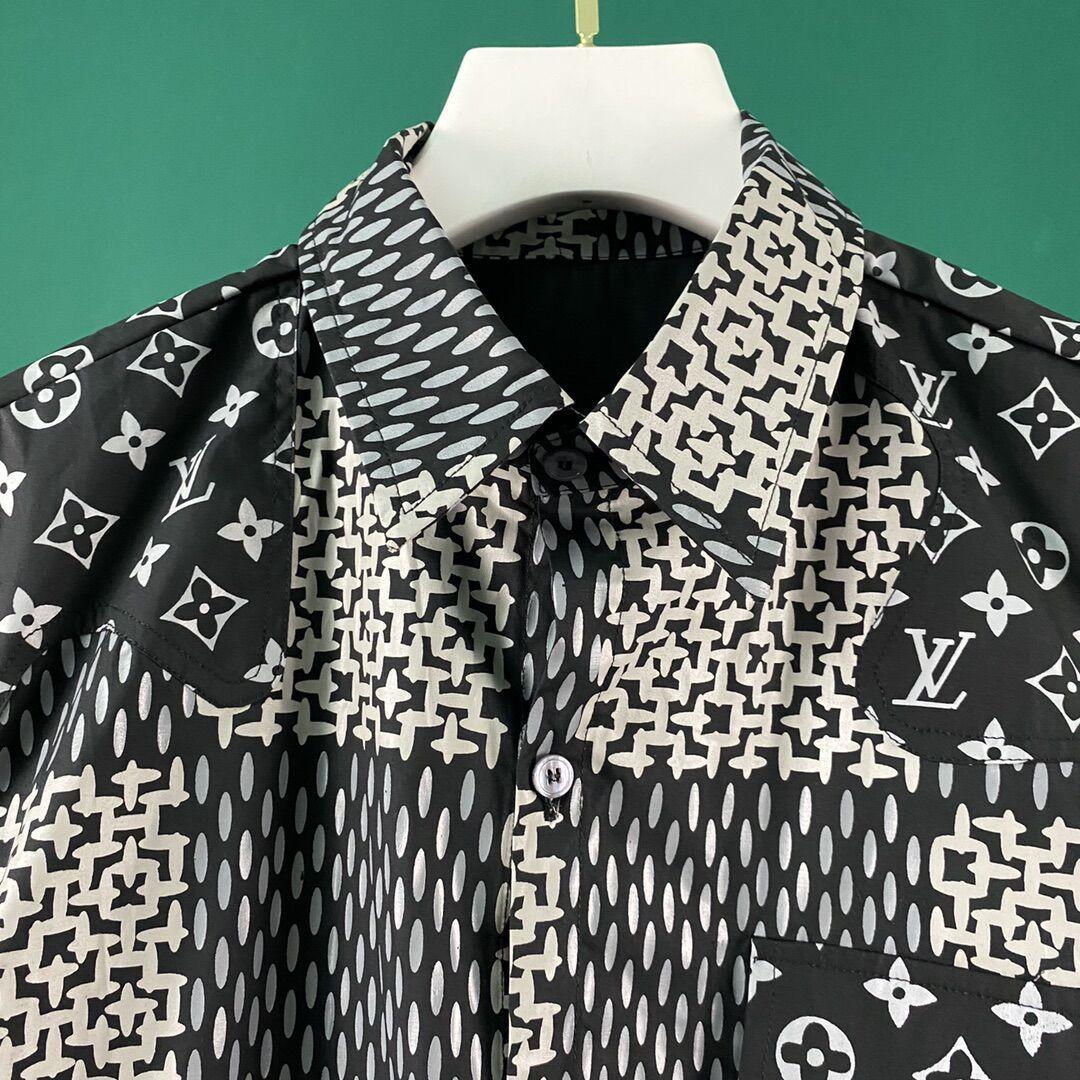 newest lv men shirt lv shirt with free shipping fee  5