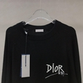 Dior and shawn sweater black cashmere dior sweater black dior sweater   5