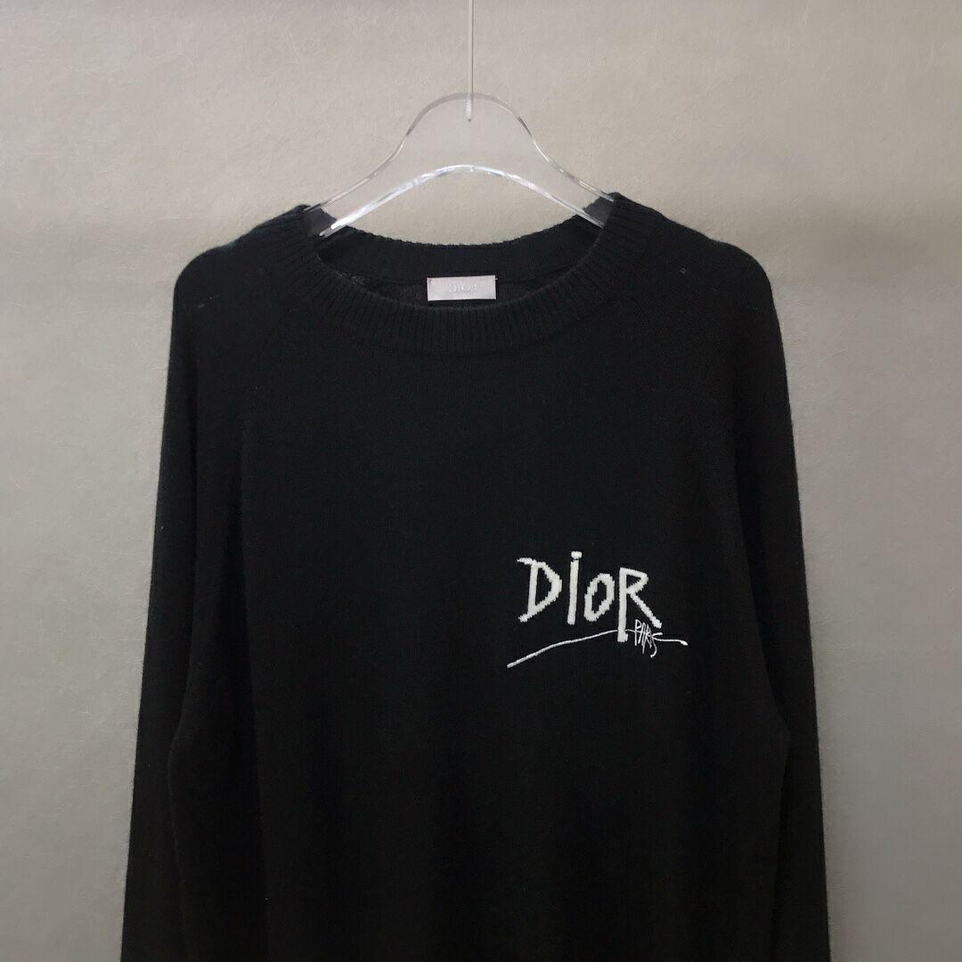 Dior and shawn sweater black cashmere dior sweater black dior sweater   8