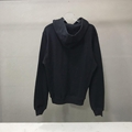 DIOR AND SHAWN OVERSIZED HOODED SWEATSHIRT Black Cotton Fleece 3