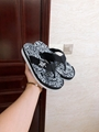 Dior FLIP-FLOPS Black Nylon with DIOR AND SHAWN Embroidery dior slide sandal 1
