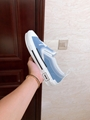 B23 SLIP-ON SNEAKER Blue Canvas with DIOR AND SHAWN Signature dior sneaker dior  7