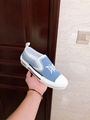 B23 SLIP-ON SNEAKER Blue Canvas with