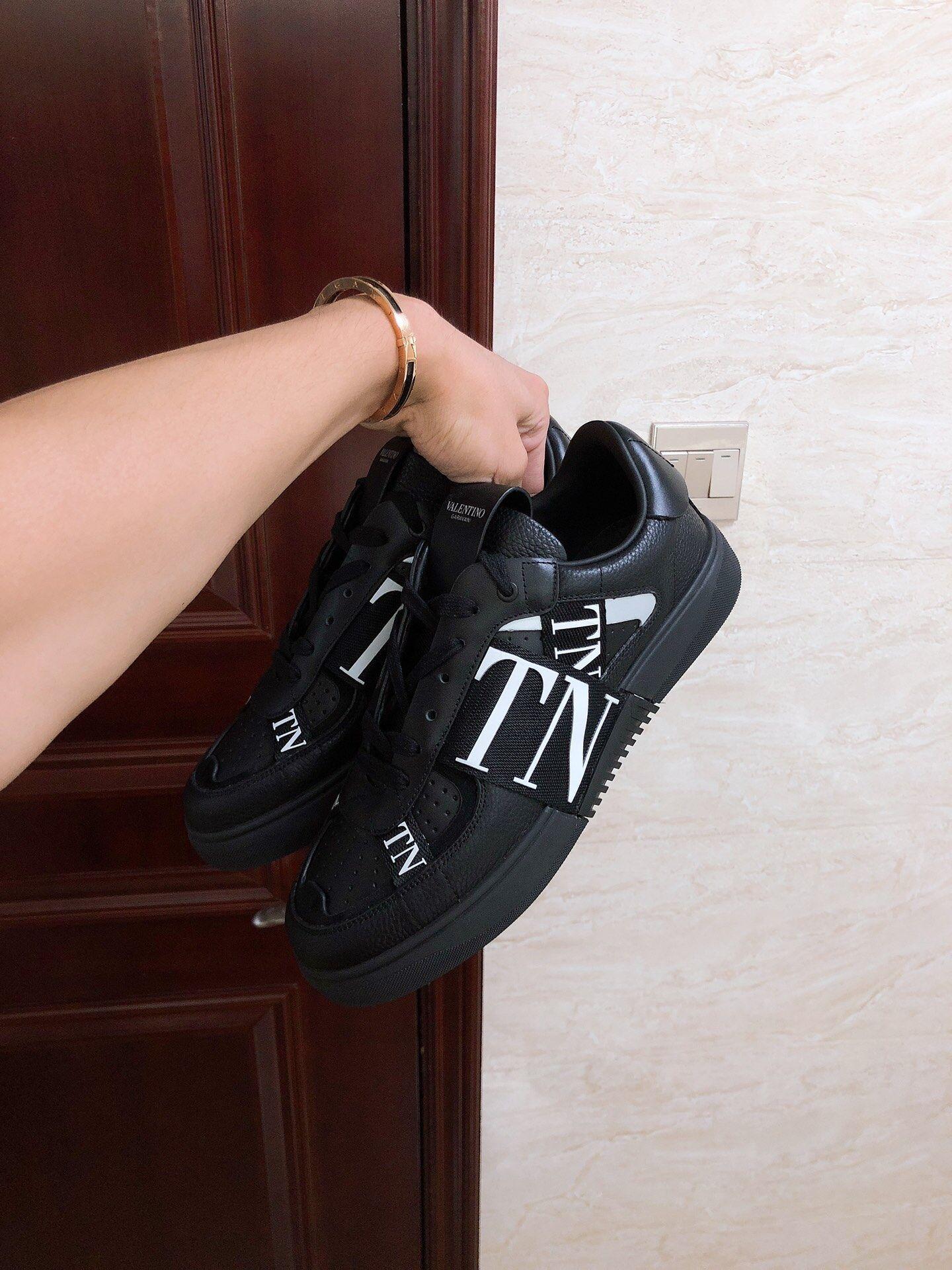 GARAVANI CALFSKIN VL7N SNEAKER WITH BANDS           shoes snekaer  7