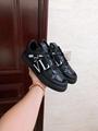 VALENTINO GARAVANI CALFSKIN VL7N SNEAKER WITH BANDS VALENTINO shoes snekaer