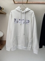 OVERSIZED HOODED SWEATSHIRT WITH 3D ERODED DIOR AND DANIEL ARSHAM SIGNATURE