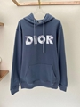 OVERSIZED HOODED SWEATSHIRT WITH 3D ERODED DIOR AND DANIEL ARSHAM SIGNATURE  10