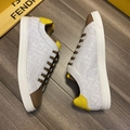 Multicolor canvas and leather low-tops       sneaker Lace-up low-top  7