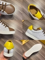 Multicolor canvas and leather low-tops       sneaker Lace-up low-top  9