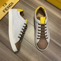 Multicolor canvas and leather low-tops       sneaker Lace-up low-top  10
