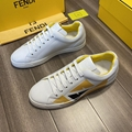 fendi White leather low-tops sneaker fendi sneaker fendi shoes fendi men shoes  7