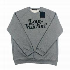 squared lv sweatshirt 1A7X6Y lv sweatshirt Grey