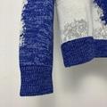 HAND-KNIT CLOUD INTARSIA CREWNECK    SWEATER  BLUE  1A8A1J  4