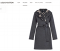 hotsale     hooded wrap coat with belt