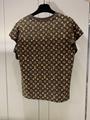 Hotsale lv flounce sleeve monogram top lv tshirt lv short sleeve 1A84A7