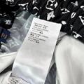 hotsale lv stencil effect monogram jogging pants lv black pant