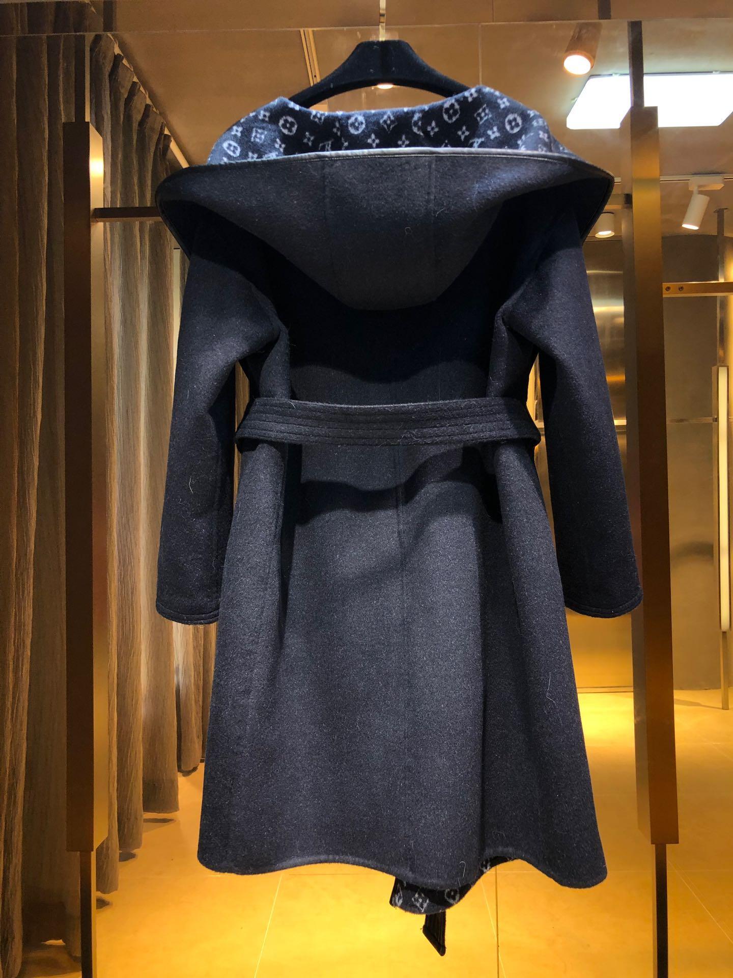 hooded wrap coat    coat 1A4PE7 6