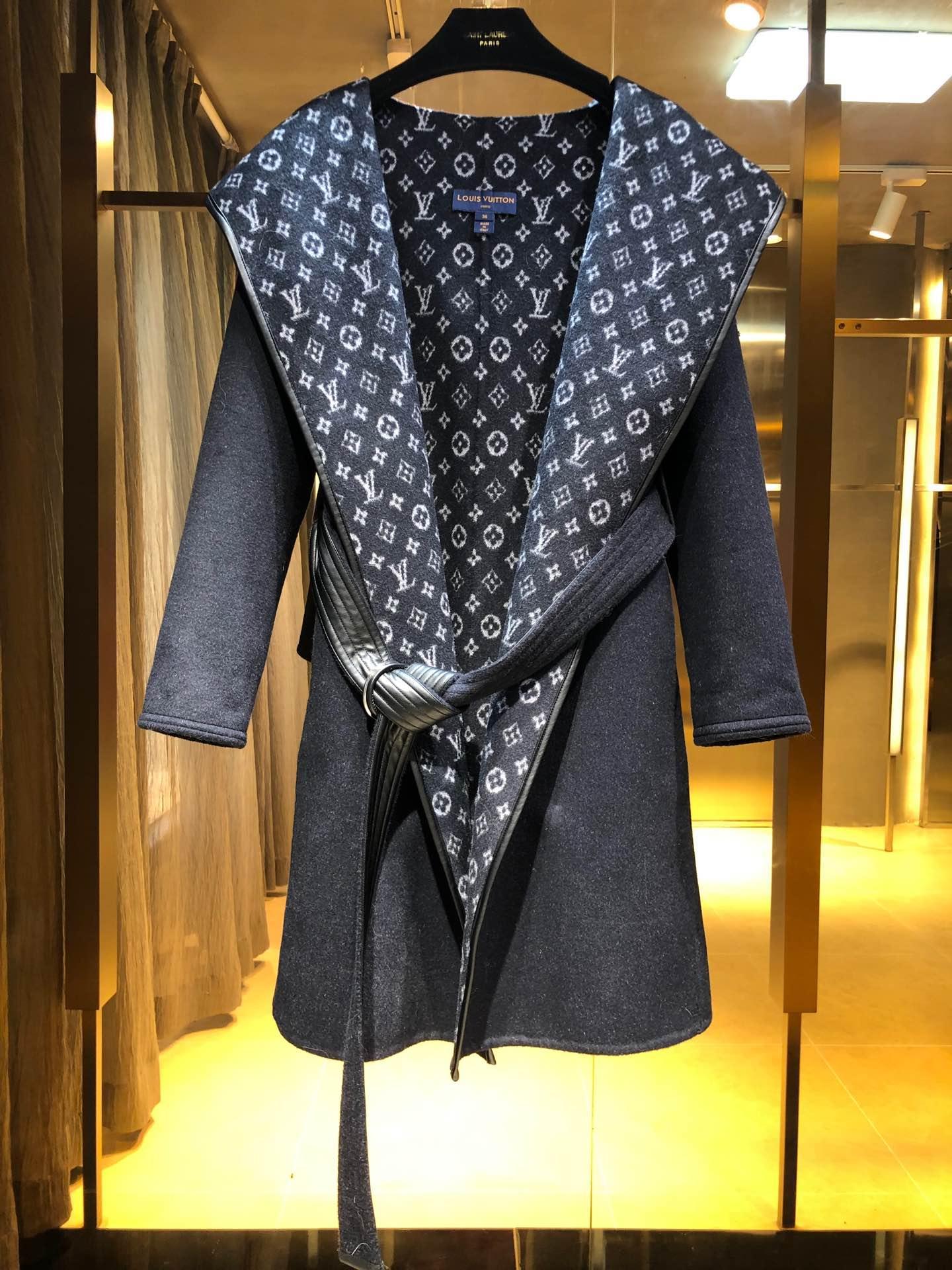 hooded wrap coat    coat 1A4PE7 7