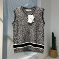 Dior V-NECK SLEEVELESS SWEATER Dior