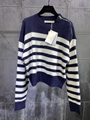 Dior SWEATER Navy Blue Cashmere with